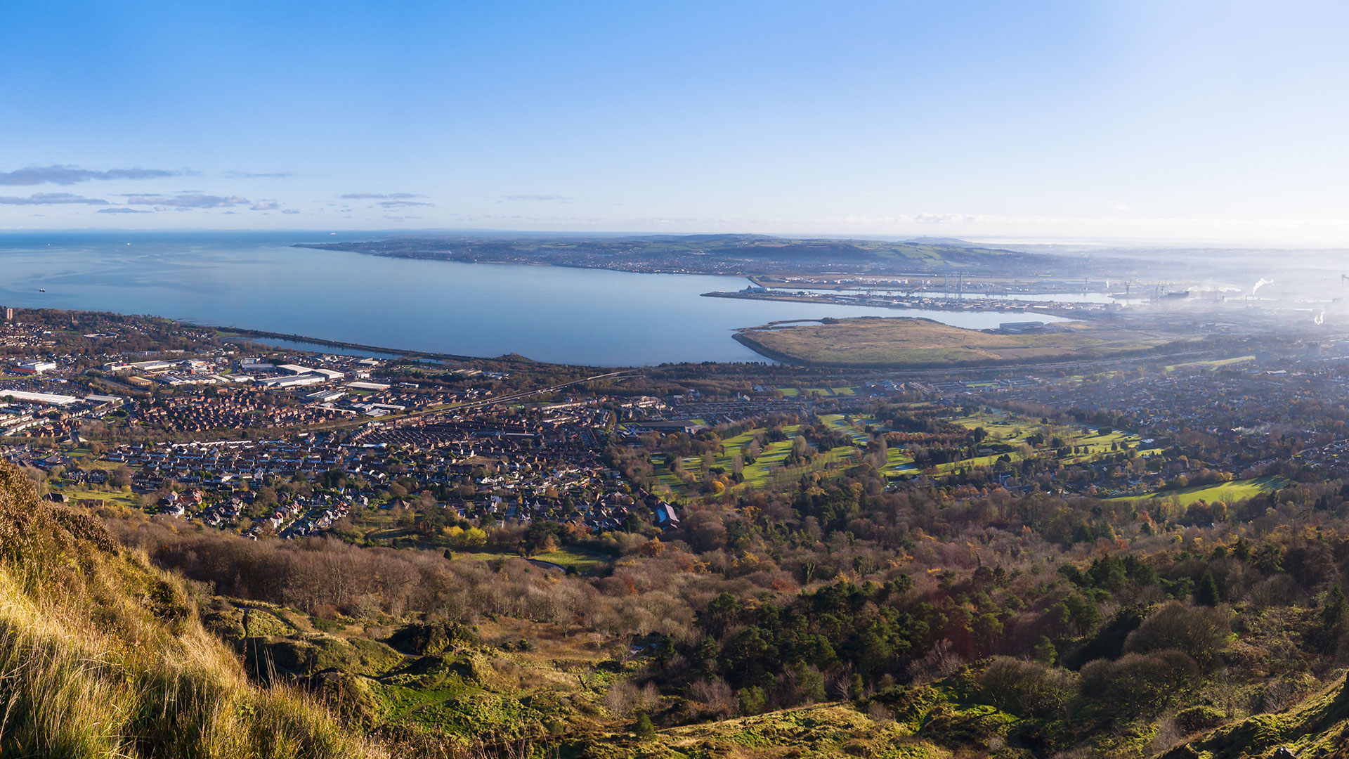 View Of Belfast From Cavehill